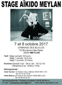 Stage privé Meylan Ph. Gouttard Shihan @ Gymnase des Buclos | Meylan | Auvergne-Rhône-Alpes | France